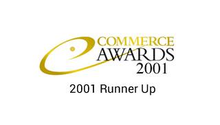 E Commerce Awards 2001 Runner up_Web Designers Belfast