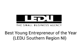 LEDU The Small Business Agency_Best Yong Entrepreneur of the year (LEDU Southern Region NI)_Web Designers Belfast