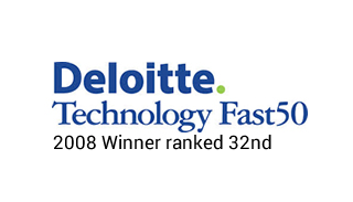 Deloitte Technology Fast 50 2008 Winner ranked 32nd_Web Designers Belfast